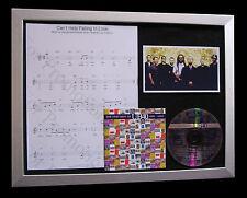 UB40 Help Falling Love TOP QUALITY CD MUSIC LTD FRAMED DISPLAY+FAST GLOBAL SHIP