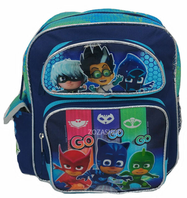 PJ Masks Backpacks Rucksack School Bag Boys Kids Catboy Official Licensed