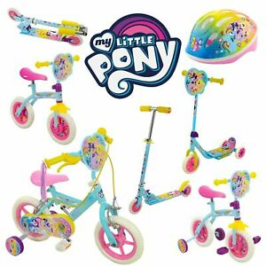 My-Little-Pony-Girls-Kids-MLP-Tri-Scooter-Bike-Helmet-2-in-1-Bicycle-And-more