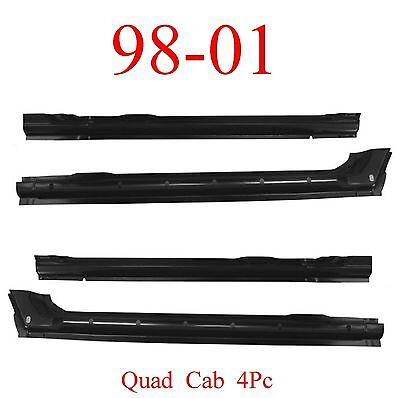 4 Door 98 01 Dodge Left Quad Cab Inner Rocker Panel Ram Truck 1582-303