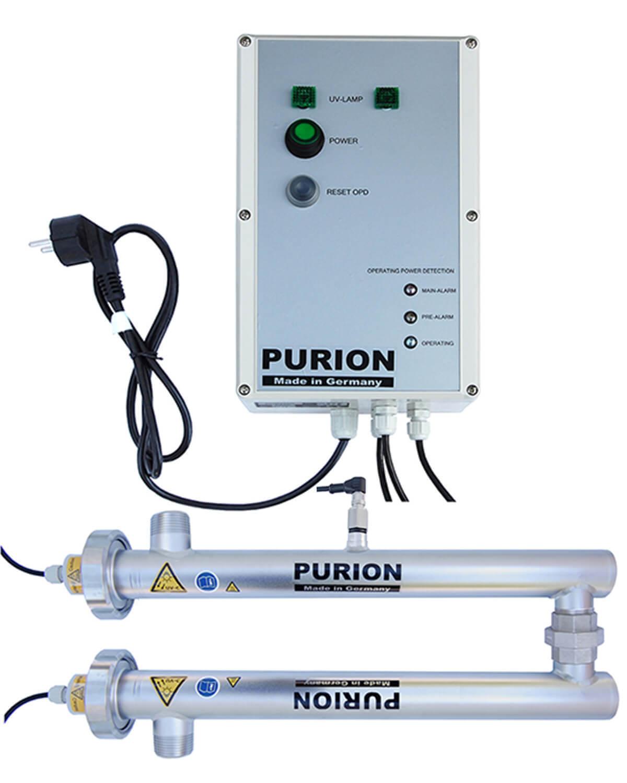 PURION 1000 230V DUAL OPD, integrierte Sensorüberwachung UV-C-Leistung
