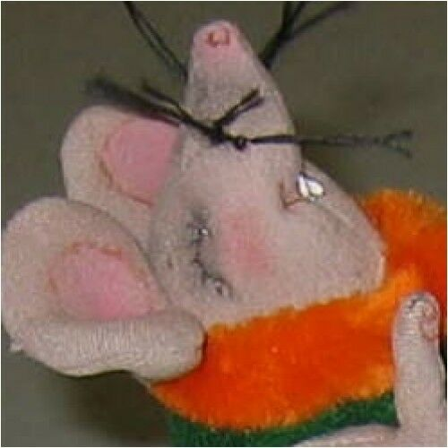 """*NEW* CLOTH DOLL PAPER PATTERN /""""RAGTIME RATS/"""" BY SHARON MITCHELL"""