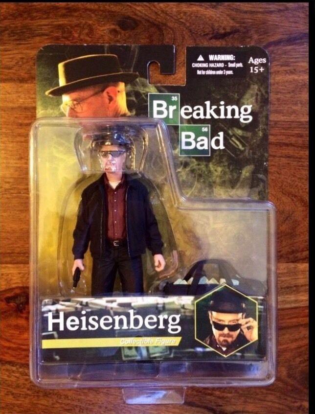 Breaking Bad Heisenberg Walter Weiß Figure MEZCO 6