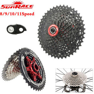 Sunrace-8-9-10-11-Speed-Cassette-MTB-Road-Bike-Wide-Ratio-Shimano-SRAM-Freewheel