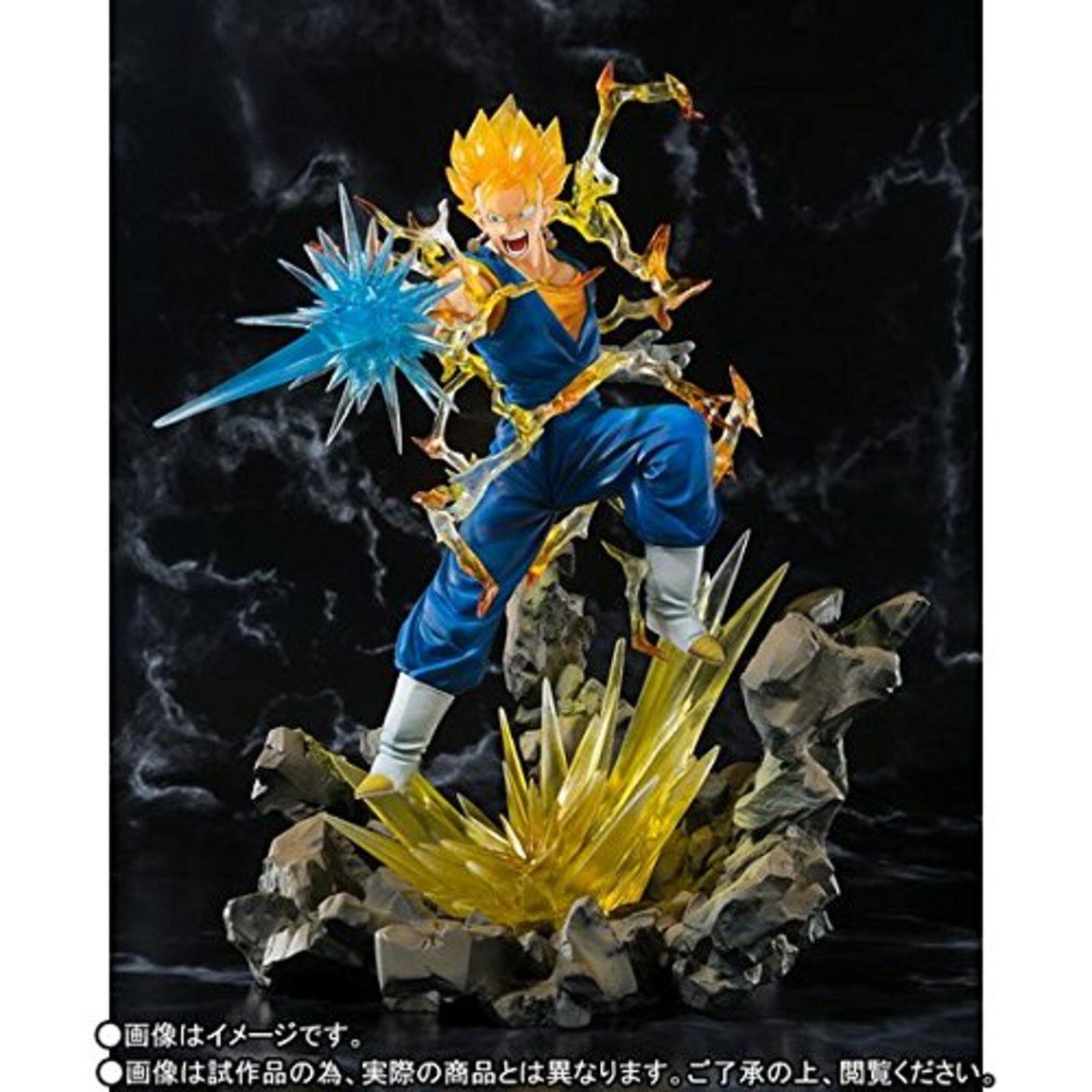 Bandai Dragon Ball Z Figuras Artísticas Zero Súper Saiyan Vegito Vegetto PVC F