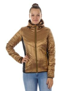 CMP-Outdoor-Jacket-Functional-Jacket-Quilted-Jacket-Brown-Shiny-Thinsulate