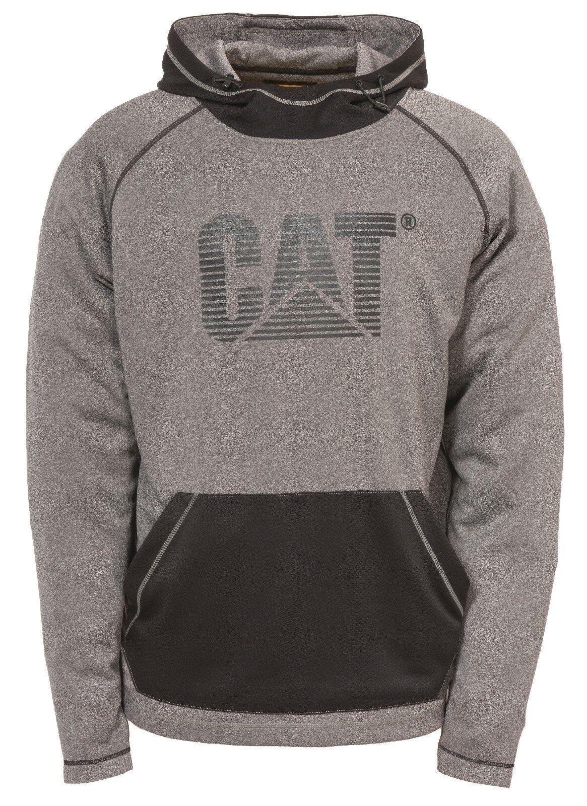 CAT Caterpillar Ausdauer Kapuzenpulli Herren Grau Arbeitskleidung   | Sale Online Shop