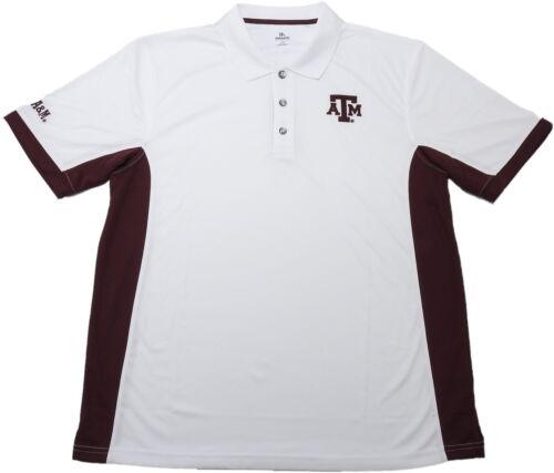 Knights Apparel Mens Short Sleeve Polo Shirt White//Maroon