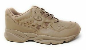 Propet-Men-039-s-Stability-Walker-Walking-Sneakers-Taupe-Leather-Size-8-5-D-M
