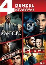 Man on Fire/Out of Time/Unstoppable/Seige (DVD, 2014, 4-Disc Set)