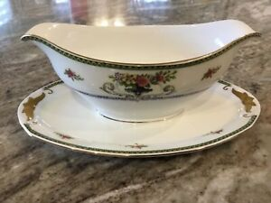 Eamag-Schonwald-Bavaria-SCD127-GRAVY-BOAT-WITH-ATTACHED-UNDERPLATE-Bavaria