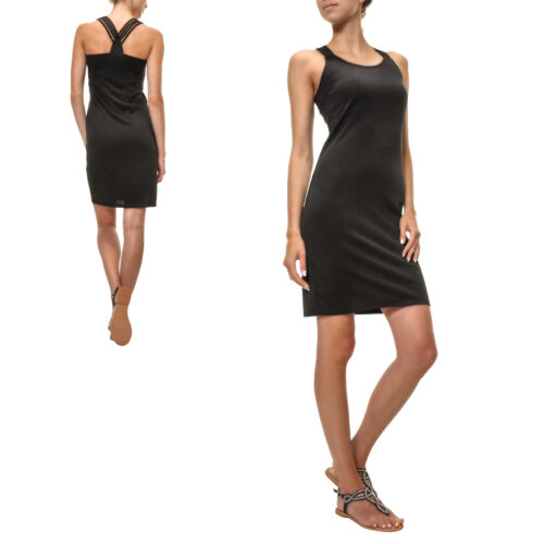 Top Secret Damen Jerseykleid Sommerkleid Stretch Bodycon Kurz Mini Strandkleid