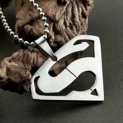 HOT Marvel Super Hero Steel Necklace Cosplay Anime Chain Pendant Fashion