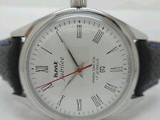 vintage hmt jubilee hand winding mens steel white dial wrist watch run order