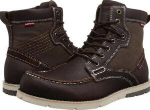 Men-039-s-Levi-039-s-Dawson-Boots-516569-21R-Leather-Canvas-Size-us-11-M-NIB