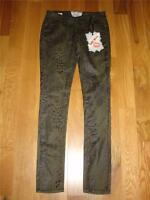 Hot Kiss Gray/black Skinny Lily Jeans Juniors Size 1