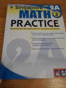 Singapore Math Practice student workbook Level 2A with