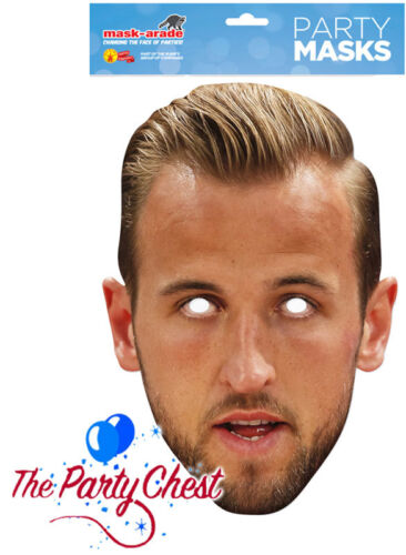HARRY KANE CARD 2D FACE MASK England Captain Spurs Tottenham Football Face Mask