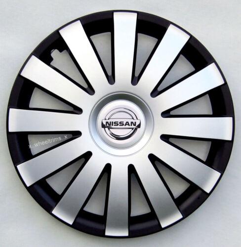 """Primera Almera Llantas De Aleación Look 16/"""" rueda adornos para encajar Nissan Primastar"""