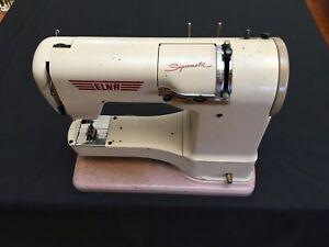 "Vintage Elna sewing machine ""Supermatic"" 1950s"
