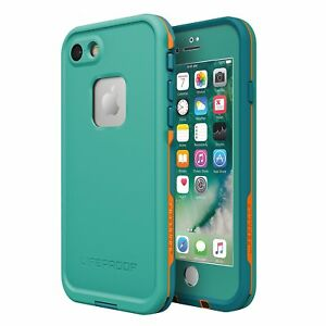 the latest 41183 6a6fa Details about Lifeproof FRE Waterproof Case FITS iPhone 7 Sunset Bay TEAL  MAUI BLUE 77-53988