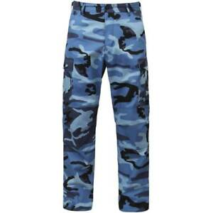 Buy Rothco Color Camo BDU Pant - 88671 Sky Blue Camo XS online  3e1fca83007