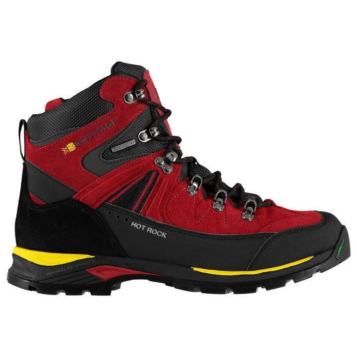 Para Karrimor Hombre Branded Karrimor Para Casual Impermeable Con Cordones Roca Caliente Caminar Botas d36b71