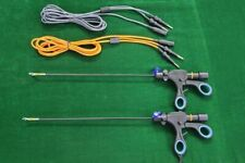 2pc Laparoscopic Bipolar Marylandfenestrated With Cable 5mmx330mm Surgical