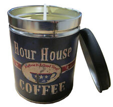 French Vanilla Scented 13oz Tin Candle w/ Coffee Label by Our Own Candle Company