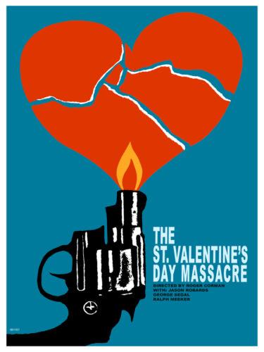 Graphic Art Valentine/'s day massacre Movie Decor Poster Interior Design 2239