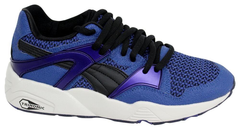 Puma Trinomic Blaze Knit Mens Trainers Lace Up Blau Trainers 359996 02 D105