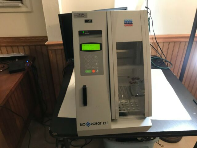Qiagen Qiacube Robotic Workstation Automatic Dna Rna Protein Purification For Sale Online Ebay