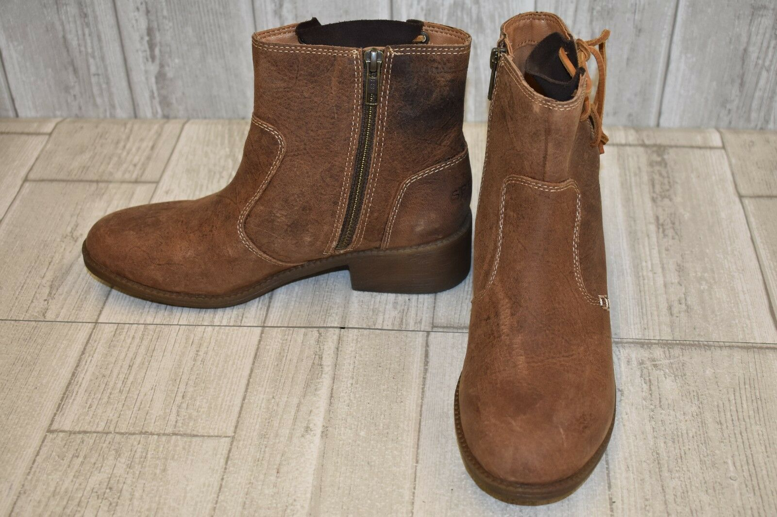 Sperry- Juniper Glyn Boots, Women's Size 6.5 M, Brown