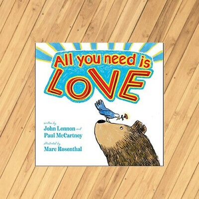 All You Need Is Love By John Lennon Hardcover Book Free Shipping 9781534429819 Ebay