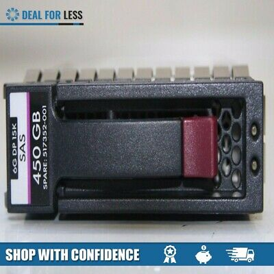 "HP 450GB 3.5/"" Hard Drive 516816-B21 516810-022 516832-003 517352-001 sas 6g 15k"