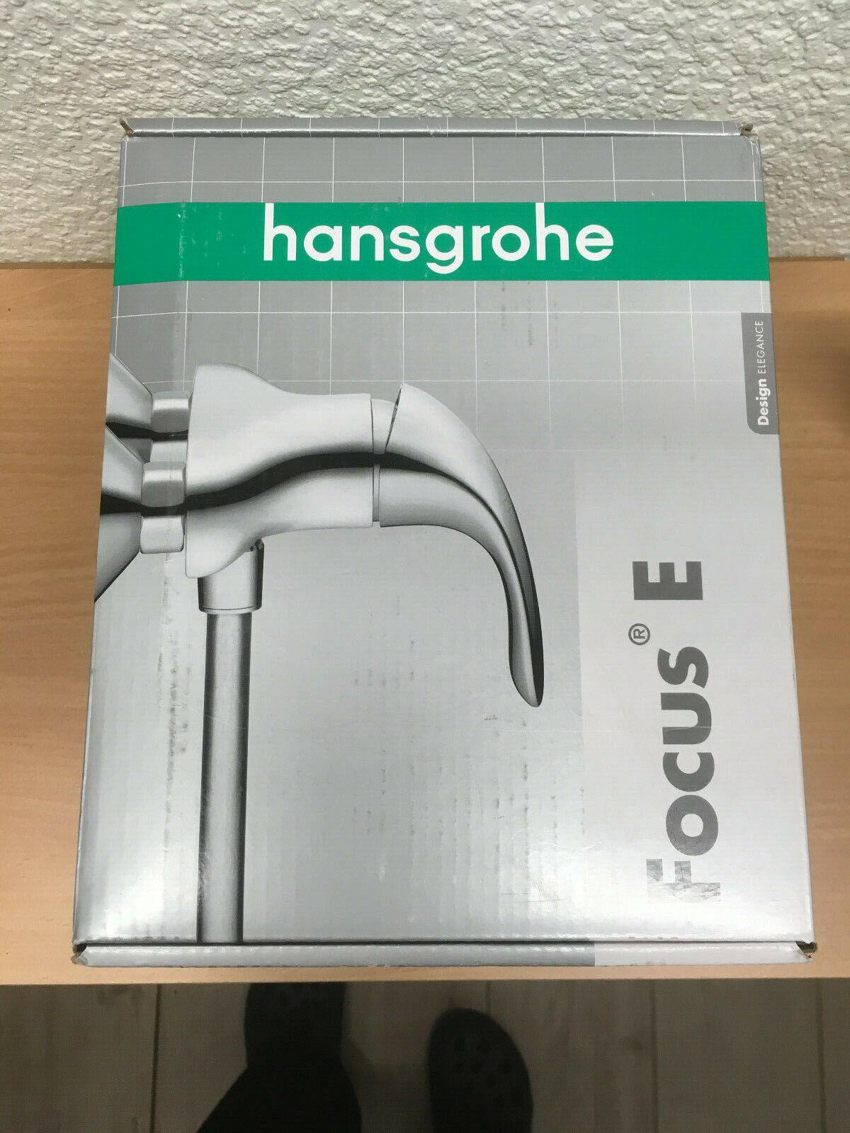 Hansgrohe Armatur Focus E EHM für Brause 31760 chrom 4006596095365 | Neuartiges Design  | Umweltfreundlich  | Deutschland Berlin  | Deutschland