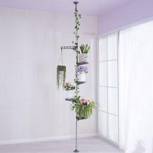 4-5-Layer-Indoor-Plant-Stand-Metal-Corner-Shelf-Flower-Pot-Holder-Display-Rack