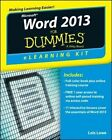 Word 2013 eLearning Kit For Dummies by Lois Lowe, Faithe Wempen (Paperback, 2014)