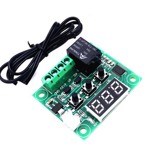 50-110° 12V W1209 Digital thermostat Temperature Switch Control Sensor+Cas C6E9