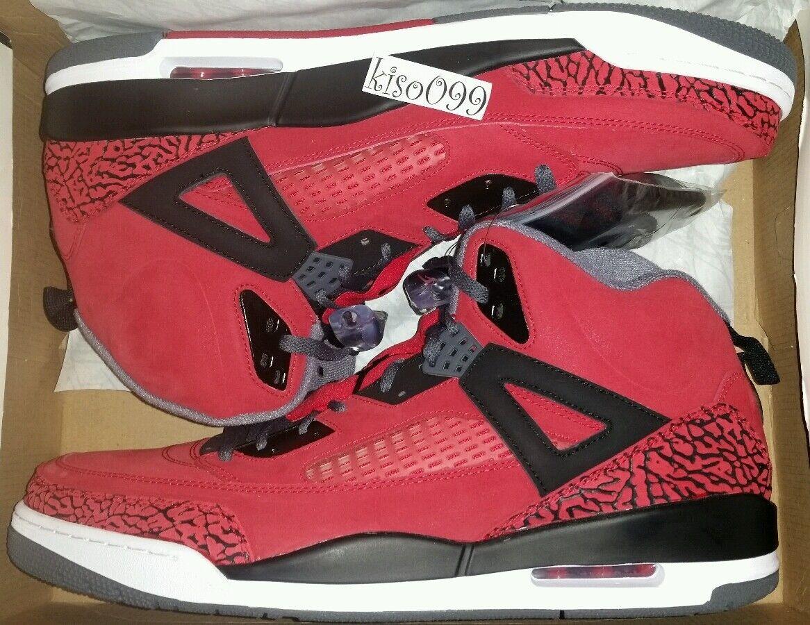 Jordan Spizike Toro 10 Gym Red retro 1 3 4 5 6 7 8 9 11 13 bred bulls cement og