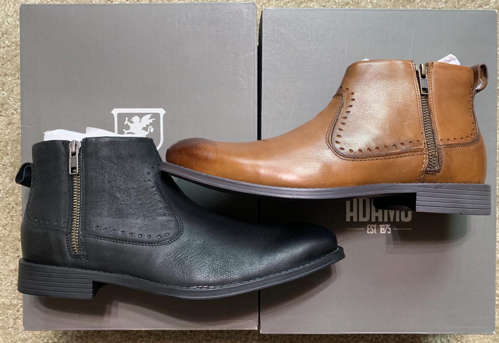 Stacy Adams Men's Remington Plain Toe Ankle Boot