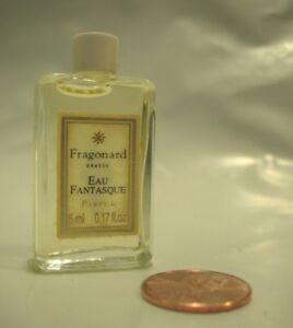Womens New Rare Fragonard Eau Fantasque Perfume Parfum 5 Ml Bottle