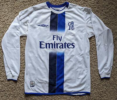Chelsea 03/04 Vintage Away kit/jersey men's S - 2003/04   eBay