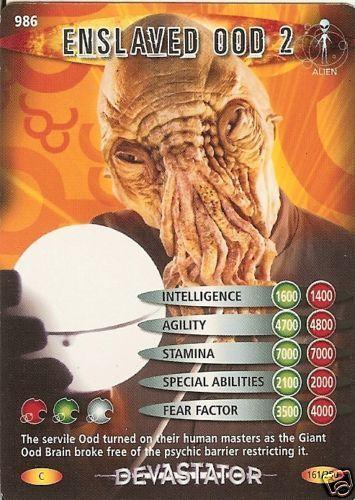 DR WHO DEVASTATOR CARD 986 ENSLAVED OOD 2