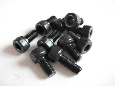 10x Stahl Zylinderkopf-Schraube 12.9 M2x4mm DIN912
