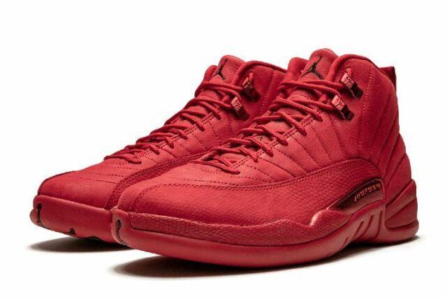Nike 130690-601 Air Jordan 12 Basketball Shoes for Men - Red