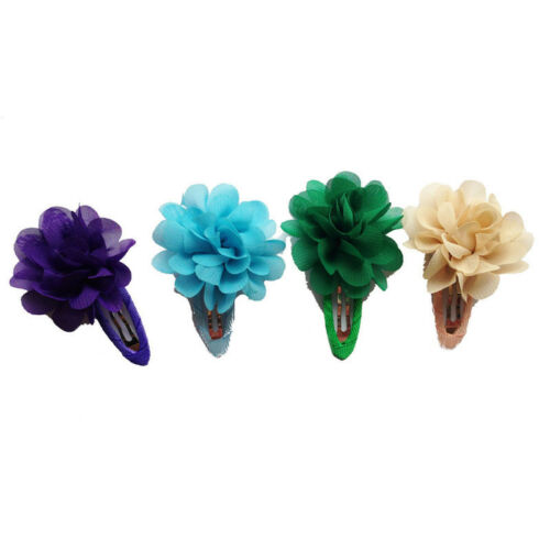 2 Pcs Baby Girls Kids Flower Pumpkin Hair Clip Hairpins Hair Accessories Gift