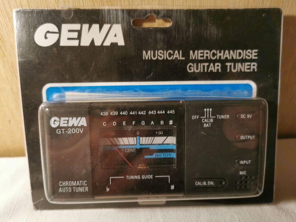Professionel guitar tuner, Gewa Gt-200v