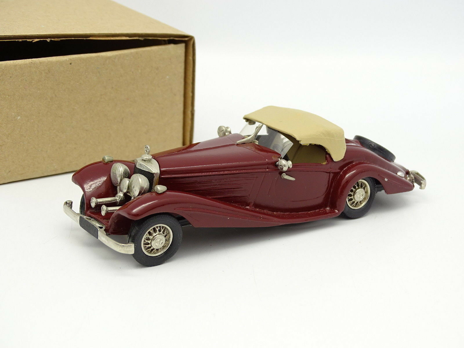 Western Modelli Metallo 1 43 - Mercedes 540K Special Roadster- red