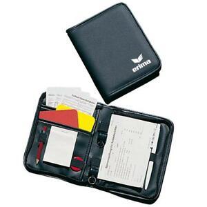 Erima-arbitre-Set-Football-Referee-Classeur-Bloc-cartes-notes-Plumes